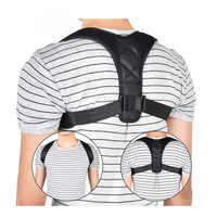 Voltar cuidado postura corrector ajustável clavícula cinta de apoio de ombro para mulheres homens melhorar sentar caminhada evitar slouching