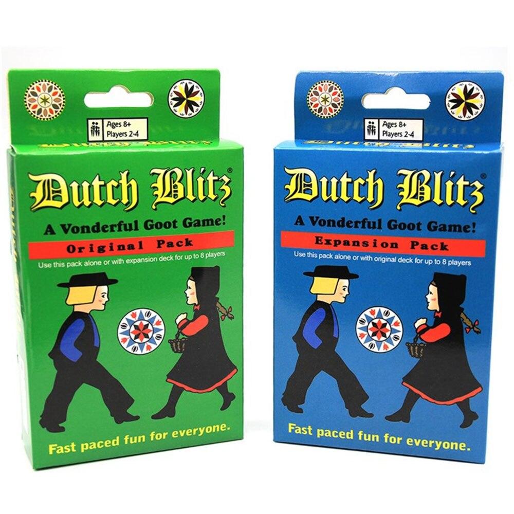 Голландский Блиц все Английский базовый расширения Комплект семейная настольная игра весело вечерние карточная игра взаимодействие между...