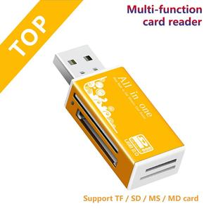 Card Reader USB 2.0 to SD Micro SD TF Memory Card Adapter for laptop Accessories Multi Smart Cardreader Card Reader