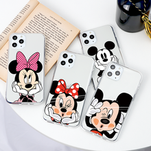 For iPhone 7 8 Plus Coque Cute Cartoon Comic For iPhone 11 P