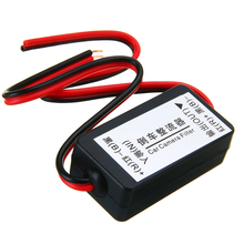 New 12V DC Power Relay Capacitor Filter Connector Rectifier for Car Rear View Backup Camera Rectifier Auto Car Camera Filter цена и фото
