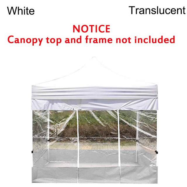1pcs Portable 3 2m Oxford Cloth Rainproof Garden Shade Side Wall Waterproof Tent Replacement Cover Tents