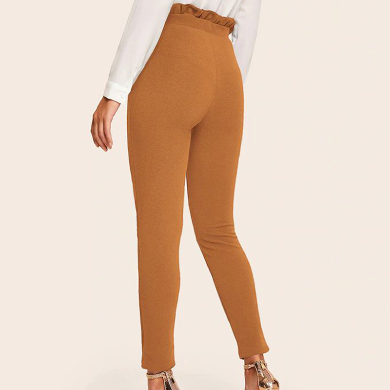women's Nine-point Tight Pants Slim Trousers High Waist 19 Autumn And Winter Pencil Pant New Tights Plus Size Pants 7