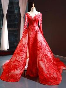 Evening-Dress Pregnancy-Clothing Beading New Long