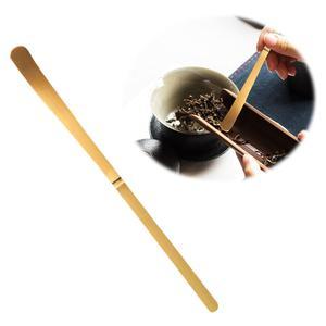 Ручной работы бамбуковая чайная ложка для чая палочки для чайной церемонии аксессуары ретро расслабляющий дом Стиль совки чай в стиках инс...