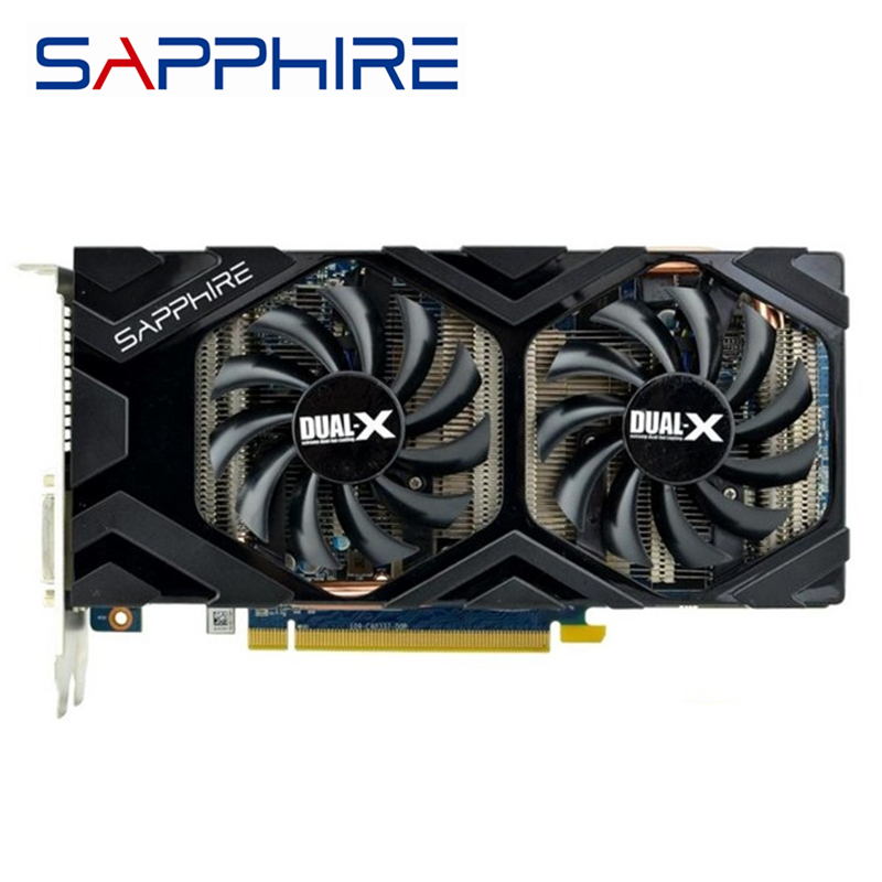 SAPPHIRE R9 270 2GB Graphics Cards GPU AMD Radeon R9270 2GB Screen Video Cards 256Bit Desktop PC Computer Game Map Videocard