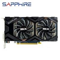 Bilgisayar ve Ofis'ten Grafik Kartları'de Safir R9 270 2GB grafik kartları GPU AMD Radeon R9270 2GB ekran Video kartları 256Bit masaüstü pc bilgisayar oyun haritası ekran kartı