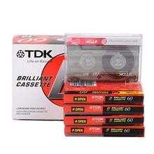 1 pces 60 minutos padrão cassete em branco leitor de fita magnética vazia gravação de fita de áudio para gravação de música de fala mp3 cd/dvd