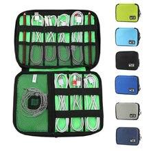 Handy Datenkabel Paket Digitale U Disk Ladegerät Zubehör Reisetasche Wasserdichte Headset Organizer Lagerung Tasche