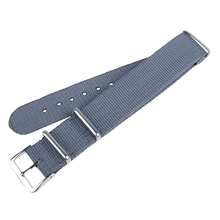 Nylon Military Style Metal Buckle Watch Band Strap 20mm Adjustable