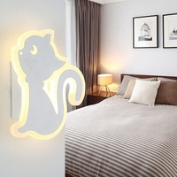 Children Bedroom Lights 12W Home Lighting Lamps Creative Hallway Lamp Personality Bedside Led Wall Lamp