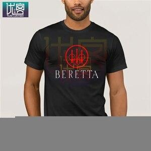 Beretta Gun Sniper Riffle broń palna mężczyźni czarny pistolet weteran Hary Bjelke Petersen Casual z krótkim rękawem bluzka bawełniana koszulka Present