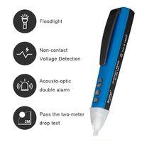 HoldPeak HP-700D AC 전압 검출기 펜 유형 디지털 전압계 미니 전기 테스터 진단 도구 충전기 전압계