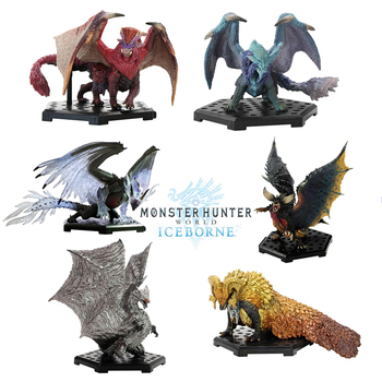 Monster Hunter World Vol13 Action Figure PVC Models Hot Kirin Dragon Decoration Toy Monsters Model Collection Gifts monster hunter generations ultimate 3ds monster hunter world game monsters figures action