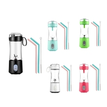 Electric Fruit Juicer Blender Portable USB Personal Baby Food Milk Smoothie Maker Mixer Cup for Home Travel Office