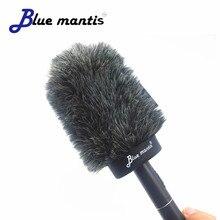 Outside Furry Windshield Muff for SONY ECM673 674 ECM MV1Condenser Microphone Wind Wind