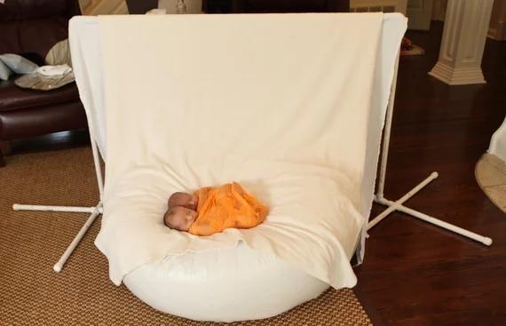 feijão, recém-nascido foto prop, posando tecido, posando saco de feijão