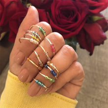 Requintado reduzir a pressão de vidro frisado anel feminino relaxar ansiedade fidget ajustável dobrável anéis 3 contas meditação artesanal a990