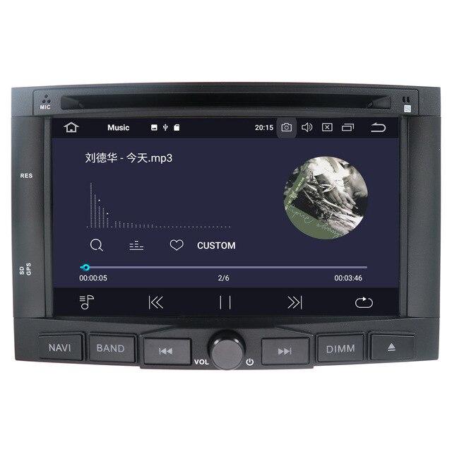 Android 9 samochodowy odtwarzacz dvd odtwarzacz nawigacja gps radio stereo dla PEUGEOT 3008 dla Peugeot 5008 2009 + multimedialne radio magnetofon jednostka