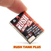 RUSH TANK PLUS prisa tanque Plus schluss VTX 5,8G 800mW 2-8S Smart Audio Video fm-transmisor AGC MIC para Drone RC MultiRotor