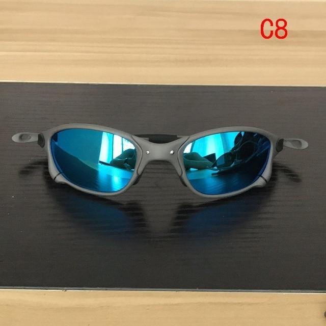 Polarizado esporte ciclismo óculos de bicicleta ao ar livre óculos de sol uv400 lente polarizada CP005-5 4