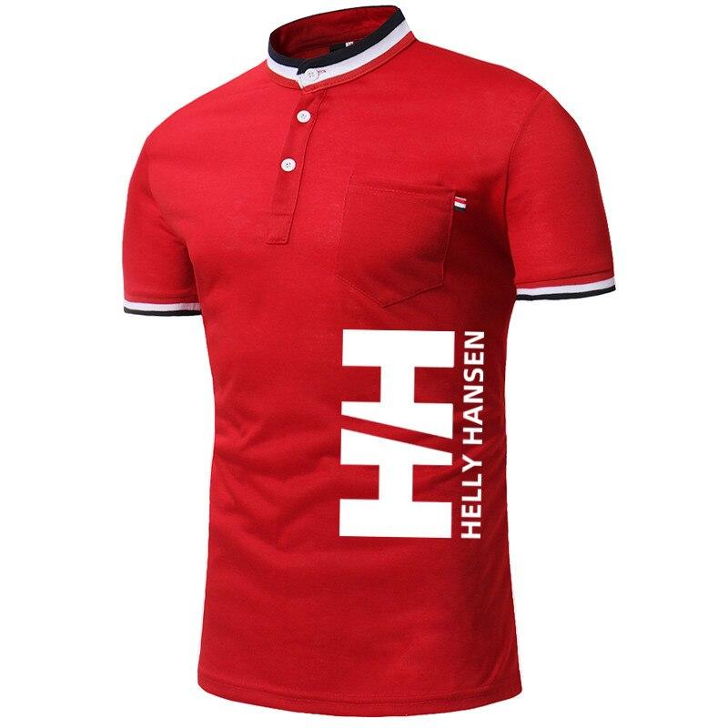 2019HH Flipped collar shirt popular shirt leisure, shirt size M-XXL 1