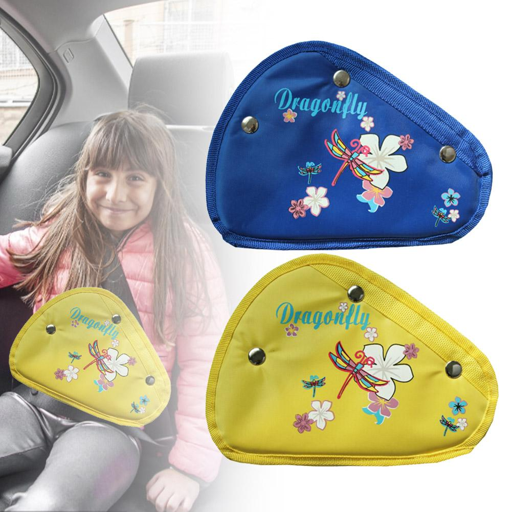 Child Safety Belt Adjuster Safety Belt Triangle Retainer Seat Belt Adjustment Sleeve Three Buckle Retainer Child Safety Guard