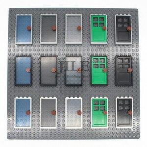 Image 1 - Конструктор Moc House, 1x4x6, с воротами и листьями, 60596