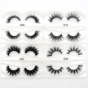 Image 3 - 30Pairs Visofree Eyelashes 3D Mink Hair False Eyelashes Vegan Cruelty Free Natural Thick Long Eye Lashes Makeup Beauty Extension