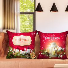 Nanacoba Счастливого Рождества для подушек с Новый Год Наволочки