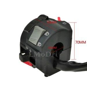 Image 2 - LMoDri 7/8 22mm Handlebar Motorcycle ATV Switches Headlight Fog Light Turn Signal Horn High/Low Beam Button in 1 Multi Switch