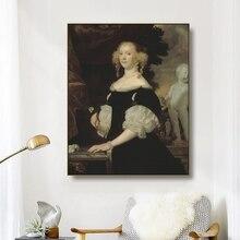 Canvas Oil Painting Portrait…
