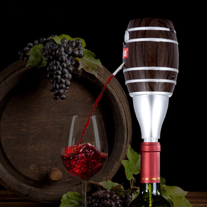 Image 5 - Wine Pourer Cider Electric Decanter Pump Apple Design with Food Grade Stainless Steel Sucker Wine Accessories for Home Bar
