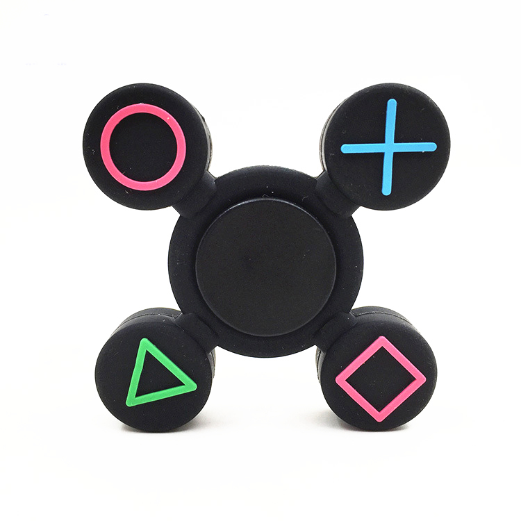 -Spinner Fidget Toy Alloy EDC Hand SpinnerPlastic Game Handle Styling For Autism And  Rotation Time Long Anti Stress Toys