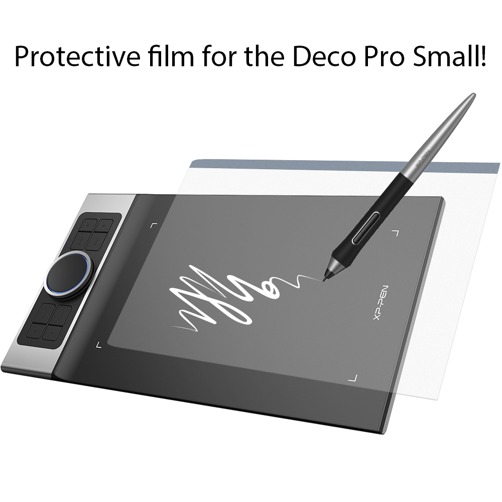 XP-Pen Protective Film For Deco Pro Small Graphics Tablet Drawing Tablet (2 Pieces In 1 Package)