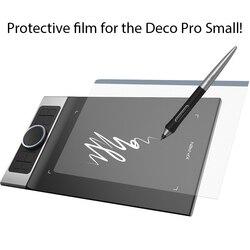 Xp-pen folia ochronna do Deco Pro małe Tablet graficzny tablet graficzny (2 sztuk w 1 opakowaniu)