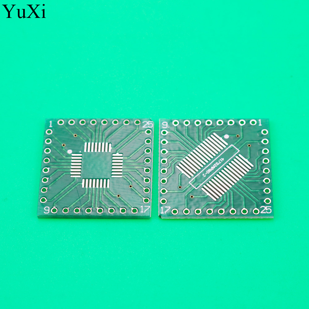 YuXi <font><b>Adapter</b></font> PCB SOP32 SSOP32 QFP32 TQFP32 <font><b>LQFP32</b></font> FQFP32 ZU DIP 32 Transfer board 0,8mm pitch IC <font><b>adapter</b></font> Buchse image