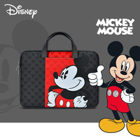 Funda Disney Mickey para ordenador portátil, bolsa de transporte para Macbook Air Pro, Huawei, funda impermeable de 13 / 14 / 15 pulgadas