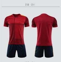 2020 2021 erkekler Futbol forması erkek kız Futbol giyim seti çocuk Futbol eğitimi üniformaları çocuk yetişkin Futbol eğitimi seti