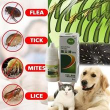 Pet Dog Cat Anti-flea Drop Insecticide Flea Lice Insect Killer Liquid Spray For Puppy Kitten Treatment
