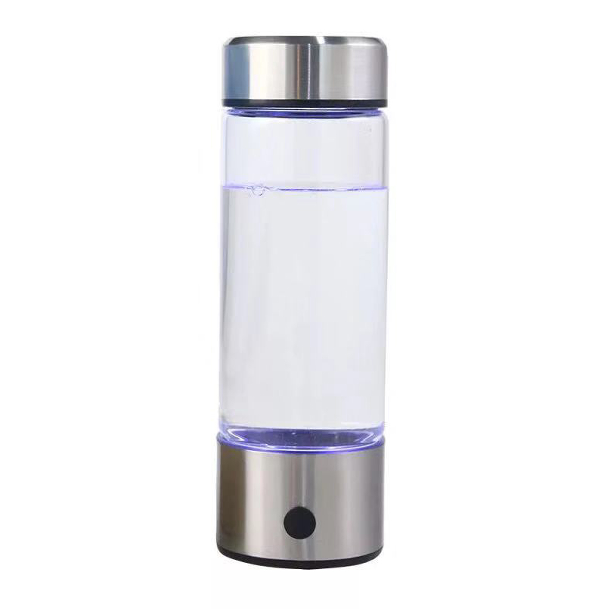 420ML Portable Hydrogens Water Generator Alkaline Maker Bottle USB Rechargeable for Pure Hydrogen-rich Water Filter Electrolysis image