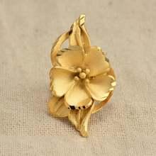 Кольцо annayoyo золотого цвета для женщин и мужчин стильное