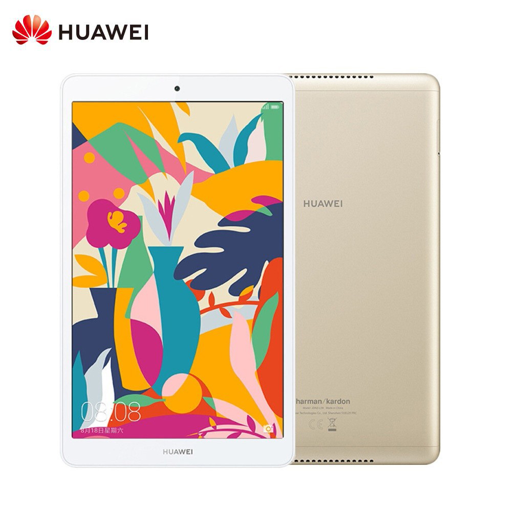 Original Huawei Pad M5 WiFi 8.0 Inch 4GB 64GB Android 9 EMUI 9.0 Hisilicon Kirin 710 Octa Core Dual Cam 5100mAh Tablet Gold
