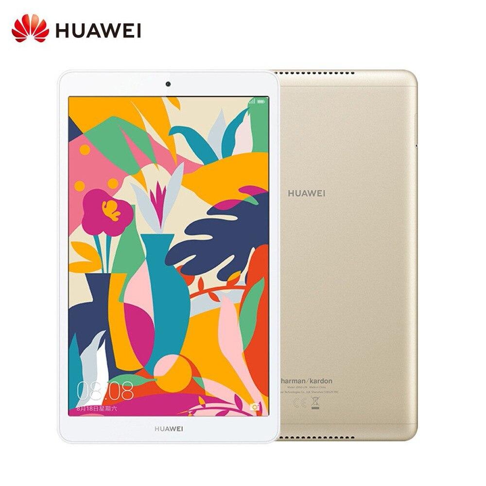 Оригинальный huawei Pad M5 WiFi 8,0 дюймов 4 Гб 64 ГБ Android 9 EMUI 9,0 Hisilicon Kirin 710 Восьмиядерный двойной Cam 5100 мАч планшет золотой