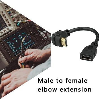 Elbow HDMI extension cable 90 degree L-type HDMI male to female extension cable 270 degree elbow extension cable 4K hdmi v1 4 m f 90 degree connector extension joint
