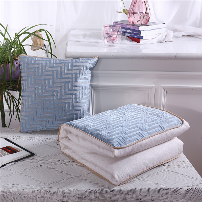 High-grade Pillow Quilt Dual Purpose, Car Purpose Cushion Office Nap Pillow Folding Blanket Sofa Pillow Air Conditioning Quilt