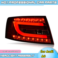 Car Styling Tail Lamp for A6 Tail Lights 2004 2008 For A6 LED Rear Light Tail Lamp DRL+Brake+Park+Signal Stop light
