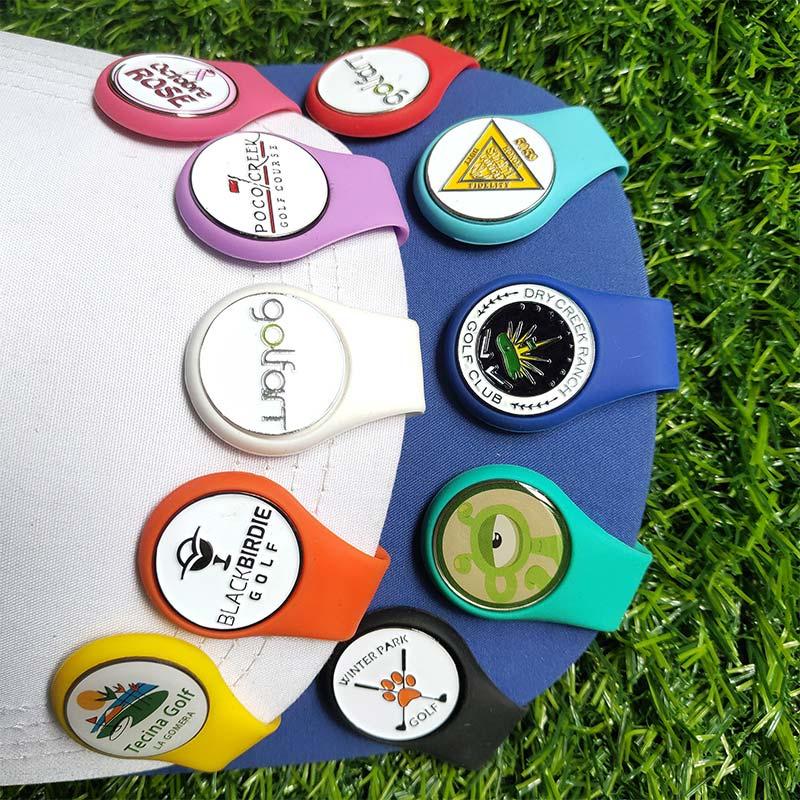 Suport pentru marcator cu minge din silicon pentru pălărie de golf, - Golf - Fotografie 3
