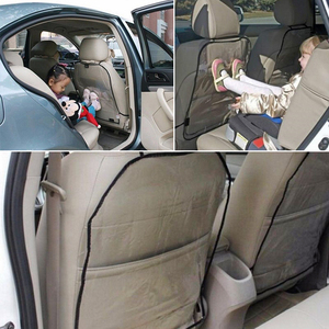 Image 2 - Seat Cover Protector for Kids Baby Kick Mat Mud Clean Dirt Decals Car Auto Seat Kicking Mat for  ram 2500
