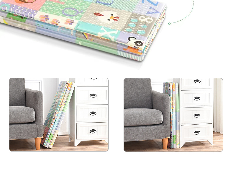 Hb3b05081cf6c4991b88510f1b2cb9ed03 Miamumi Portable Baby Play Mat XPE Foam Double Sided Playmat Home Game Puzzle Blanket Folding Mat for Infants Kids' Carpet Rug